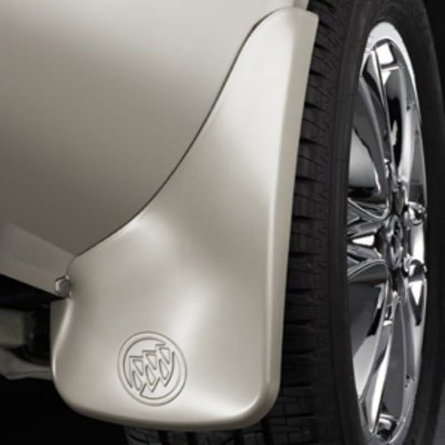 GM 22935685 Splash Guards - Rear Molded - Champagne Silver GWT) (Enclave Mud Flaps compare prices)