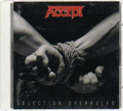 Objection Overruled [Japan Import] +1 Bonus Track by Accept (1993-08-02)