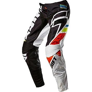 Pantalon Motocross Shift 2015 Faction Mainline Noir Blanc