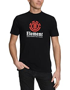 Element Herren T-Shirt Vertical PP, black, S, 01TSC6ELPP