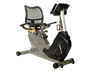 Lifecore Fitness Space Saving Self Powered Recumbent Bike with Adjustable Mesh Seat... by LifeCORE Fitness