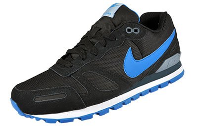 Nike - Air Waffle Trainer - Coleur: Schwarz - Taille: 47.5