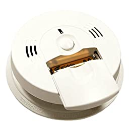 Kidde KN-COSM-IBA Hardwire Combination Carbon Monoxide and Smoke Alarm with Battery Backup and Voice Warning, Interconnectable