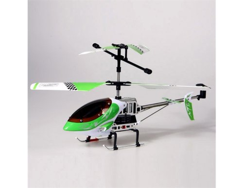 851B Mini Alloy Radio Control 2 Channels Remote Helicopter with Built-in Gyroscope