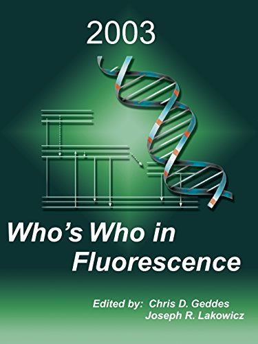 Who'S Who In Fluorescence 2003