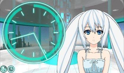 霧島レイ 目覚まし時計 Lei Clock(W)