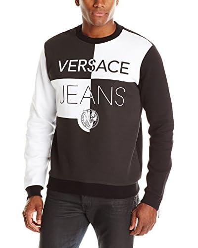 Versace Jeans Men's Block Print Sweatshirt