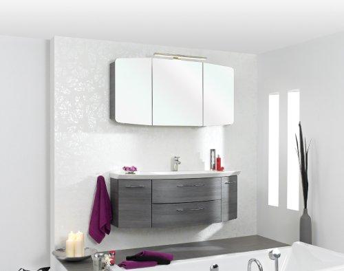cassca pelipal badm bel set 120cm waschtisch waschtischunterschrank spiegelschrank games. Black Bedroom Furniture Sets. Home Design Ideas