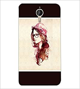 PrintDhaba Hat Girl D-1279 Back Case Cover for LETV LE 1 PRO ULTRA (Multi-Coloured)
