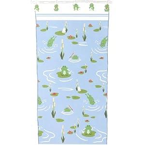 New shower curtain peeking frog novelty kids novelty bath frogs free