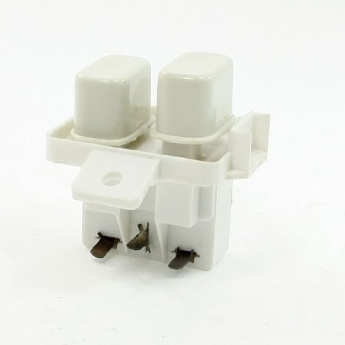 Water & Wood AC 250V 25A 3P Lug Knob Latching Power Switch for Welli Washing Machine