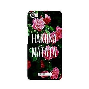 Ebby Hakuna Matata Premium Printed Case For Lava Iris X8