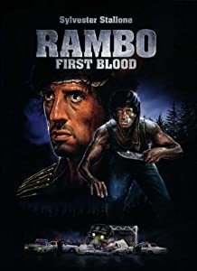 K 11 Movie Rambo: First Blood Poster Movie K 11 x 17 In - 28cm x 44cm Sylvester ...