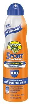 Banana Boat Sport UltraMist Sunscreen SPF 100 Continuous