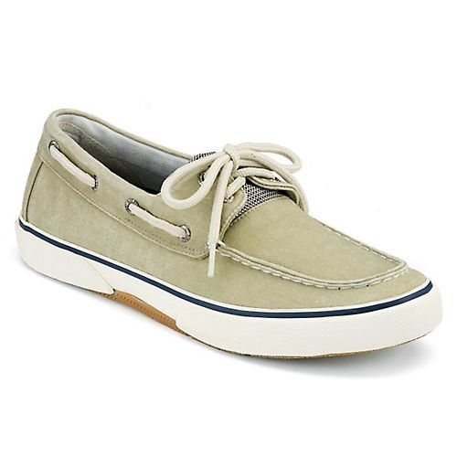 Sperry Top-Sider Men's Halyard 2 Eye Oyster/Hone Boat Shoe 9