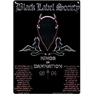 Black Label Society - Collectible Tin Concert Signs