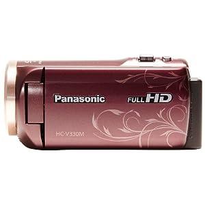 Panasonic デジタルハイビジョンビデオカメラ HC-V330M