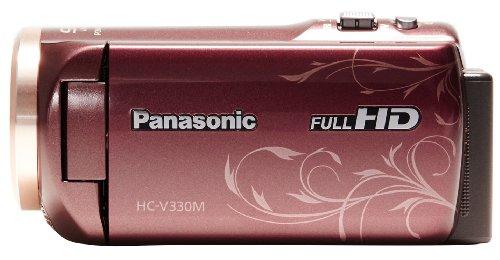 【330本限定バッテリー特典付き】【Amazon.co.jp限定】Panasonic デジタルハイビジョンビデオカメラ HC-V330M