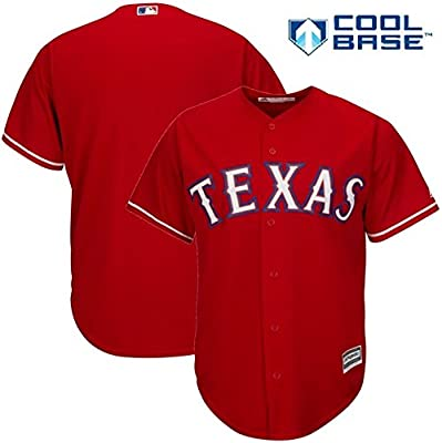 Texas Rangers MLB Youth Cool Base Alternate Team Jersey Red