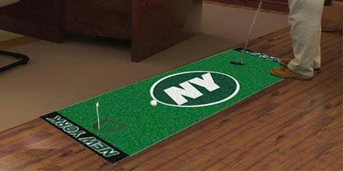 FANMATS NFL New York Jets Nylon Face Putting Green Mat at Amazon.com