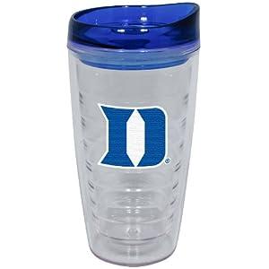 Buy NCAA Duke Blue Devils 16-Ounce Slimline Tumbler with Color Lid by Hunter