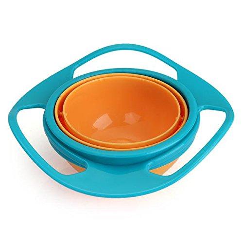 Spill Resistant Gyro Bowl For Kids Baby Toddler Children Feeding front-168645
