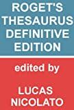 Roget's Thesaurus - Definitive Edition [Fully Searchable] (English Edition)