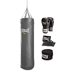 Everlast Womens  Boxing Training Kit 2 (Black,60 Pounds)
