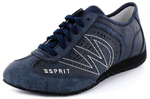 Esprit International Damen Sneaker in navy blau mit Keilabsatz , Schuhgröße:EUR 36