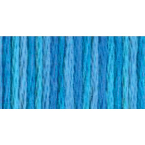 DMC 415 5-4022 Color Variations Pearl Cotton Thread, Size 5, 27-Yard, Mediterranean Sea