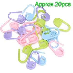 20pcs Crochet Tricot Verrouillage marqueurs de mailles / Peut également être utilisé comme une épingle couche sur une carte de voeux nouveau bébé