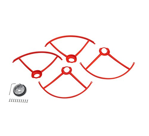 Autel-Robotics-Propeller-Guards-for-use-with-X-Star-and-X-Star-Premium-Drones-Orange