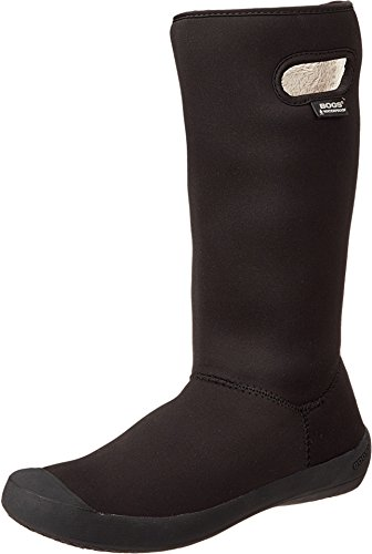 Bogs Women's Summit Waterproof Insulated Boot, Black