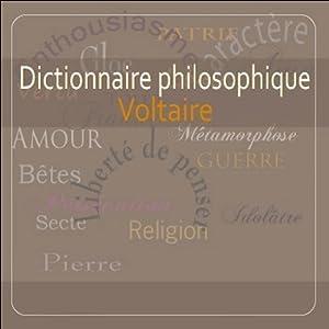 Dictionnaire philosophique   Livre audio