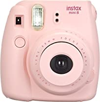Fujifilm 16443876 Instax Mini 8 Sofortbildkamera (62 x 46 mm) pink  Von Fujifilm