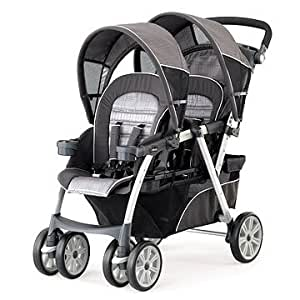 chicco cortina together double stroller cubes tandem strollers baby. Black Bedroom Furniture Sets. Home Design Ideas