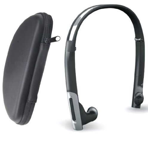 Azeca BTH010 Wireless Bluetooth Stereo Headset with Case, Foldable Azeca Bluetooth Headsets autotags B005LL8IFM