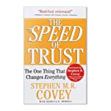 img - for Franklin Covey Softcover The Speed of Trust book / textbook / text book