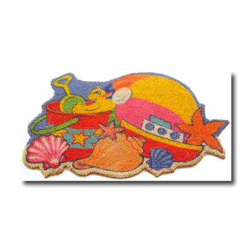Beach Toys Sculpted Coir Door Mat