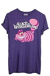 T-Shirt Cheshire Cat Alice In Wonderland - Cartoon By Mush Dress Your Style