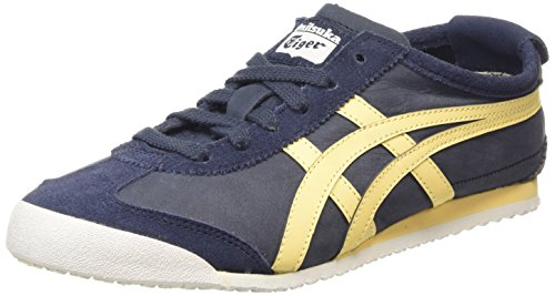 Onitsuka Tiger Mexico 66, Unisex-Erwachsene Sneakers, Blau (indian Ink/golden Haze 5017), 39.5 EU thumbnail