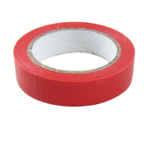 Amico Pvc Wire Adhesive Insulation Electrical Tape, 17M Length X 17Mm Width, Red
