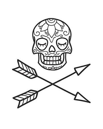 Vinilo Decorativo Skull