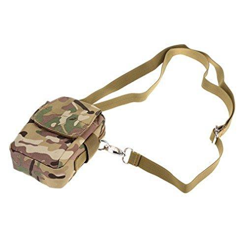 Sport Marsupio Clode® Luce Esterna Tactical Camuffamento Wear Tasche Impermeabili (Colour : Army verde)