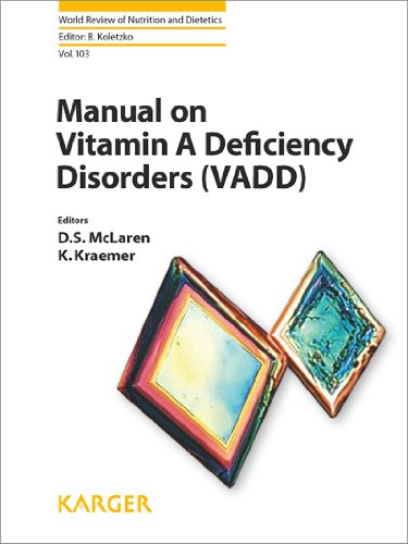 Manual On Vitamin A Deficiency Disorders (Vadd) (World Review Of Nutrition And Dietetics)