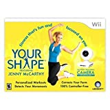 Your Shape Featuring Jenny McCarthy with Camera (Nintendo Wii)