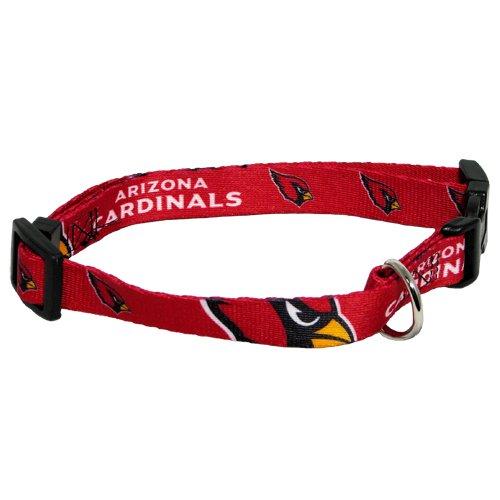 hunter-mfg-arizona-cardinals-dog-collar-medium