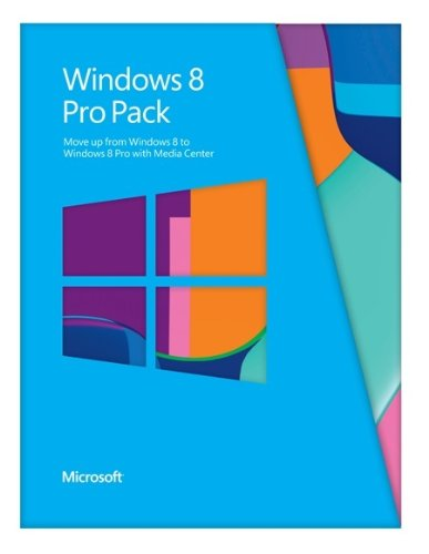 Microsoft Windows 8 Pro Pack (Win 8 to Win 8