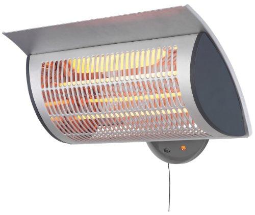 MP Essentials Waterproof Wall Mountable Outdoor Garden Patio Heating Heater + Warranty