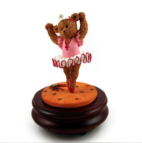 Thread Bears - Ballerina Threadbear Musical Figurine (Rock A Bye Baby) front-226597